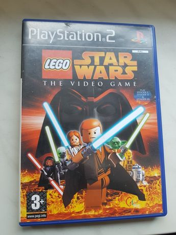 Gra na konsole PS2 Lego Star Wars The Video Game