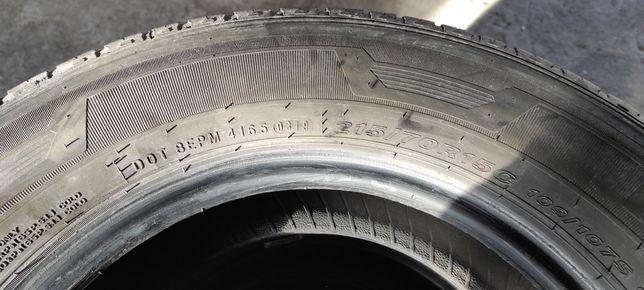 Opony letnie 215/70 R15C