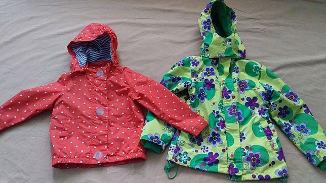 Куртка-ветровка для девочки,на трикотаже-Name It-128;Tchibo kids-98-10