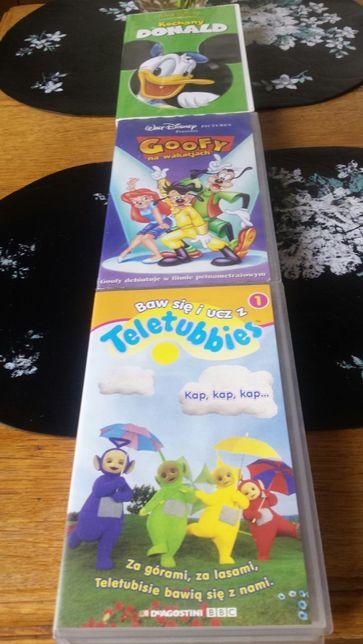 Bajki kasety VHS kolekcje PRL