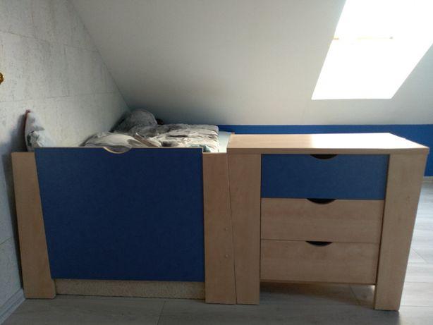 Meble BOG-FRAN system ELF (szafa, komoda, łóżko)