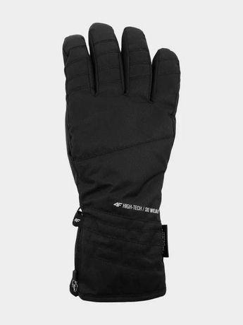 4F Nowe Rękawice narciarskie XL Rękawice wodoodporne zimowe czarne