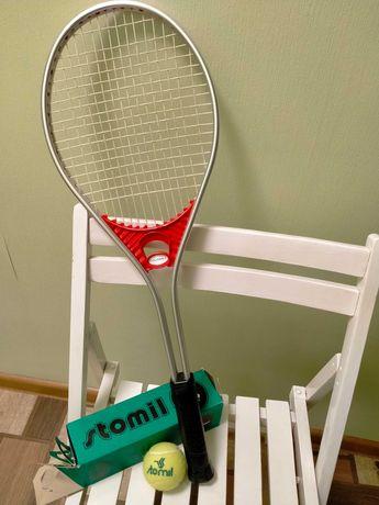 Продам дешево польскую  ракетку для большого тенниса L4