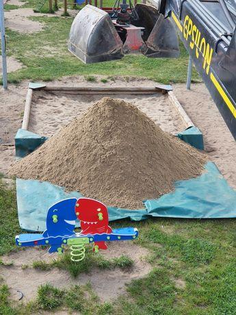 Piasek do piaskownicy atestowany. Dostawa HDS z łyżką lub Big Bag