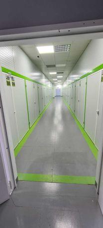 Aluguer de armazéns - boxes de armazenamento de bens imóveis.
