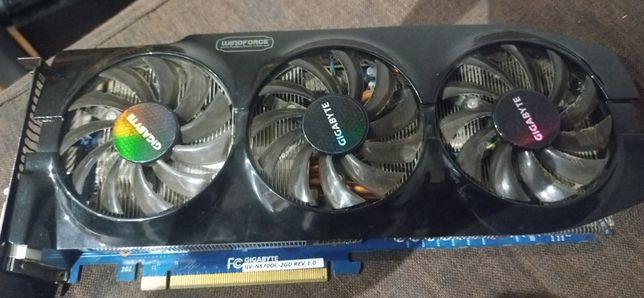 Mam do sprzedania karte graficzna GeForce GTX670 2 GB ddr5 256bit