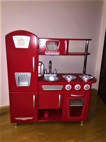 Kuchnia Kidkraft Vintage czerwona + akcesoria