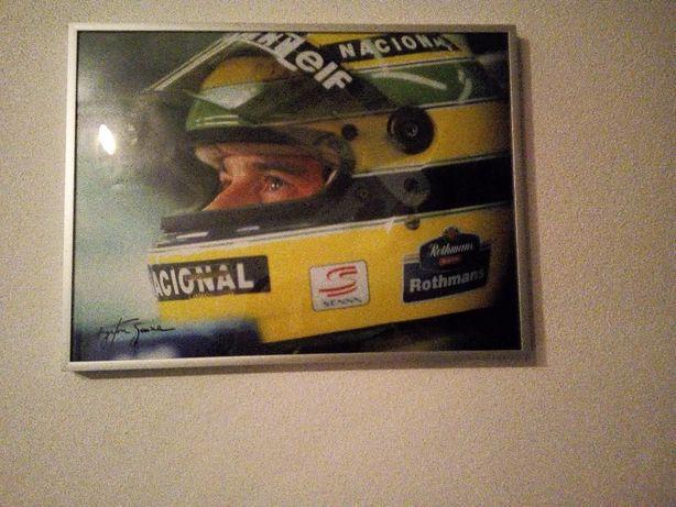 3 Quadros Ayrton Senna