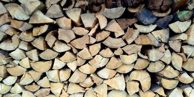 Drewno opałowe: sosna/świerk/brzoza/dąb/grab/jesion/wiąz