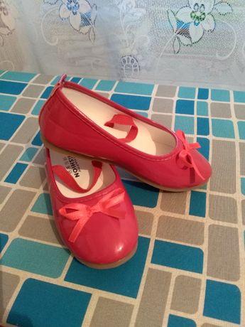 Красные туфли (стелька - 17,5 ст.)