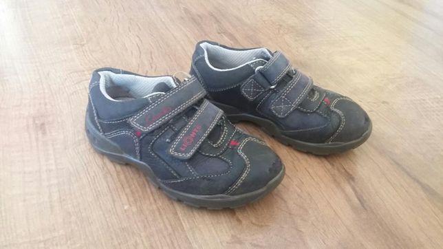 Buty, półbuty sportowe,skórzane, adidasy chłopięce Clarks 25 (8)