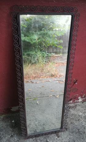 Lustro w ramie - metaloplastyka do renowacji