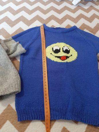 Новый свитер, ручная вязка