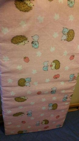 Materac kokos do łóżeczka
