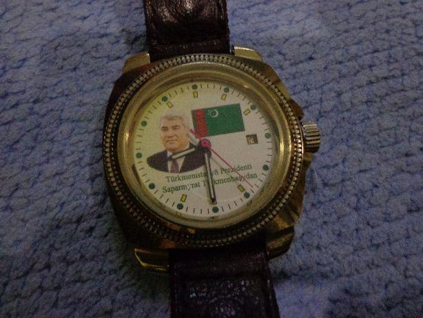 Механические командирские часы Восток из Туркменистана.