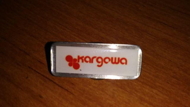 Przypinka/Wpinka Metalowa Emalia Przywieszka Kargowa