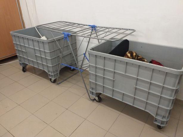 2x wózek na pranie, pojemny