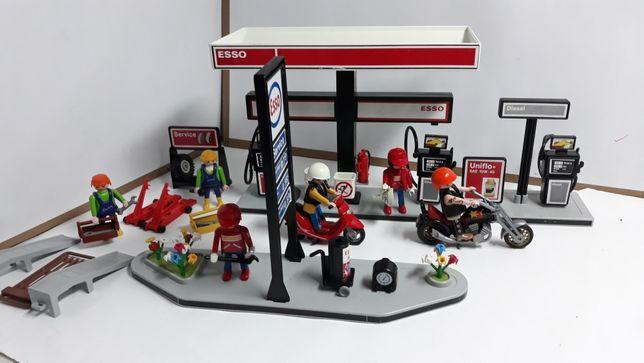 Playmobil stacja paliw esso-antyk