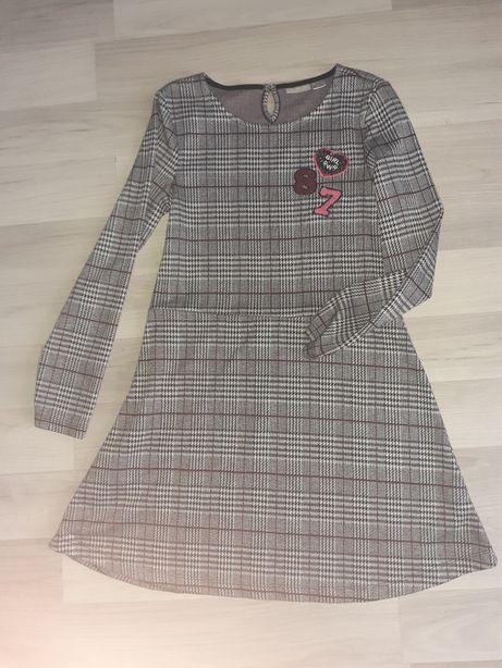 Sukienka krata dziewczęca peppers 146/152