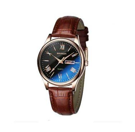 Стильные мужские часы Sanda с римскими цифрами