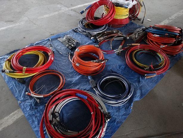 Węże wąż hydrauliczny do wysokich ciśnień Różne długości. Od strażaków