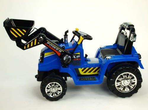 NOWY Traktor Koparka NA AKUMULATOR 2 Silniki Pilot GwaracjaNOWY Trakto