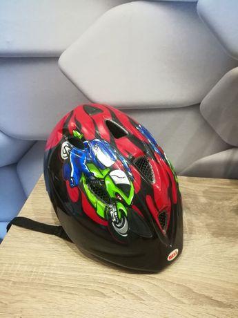 Kask rowerowy BELL bdb 50-54 cm światełka