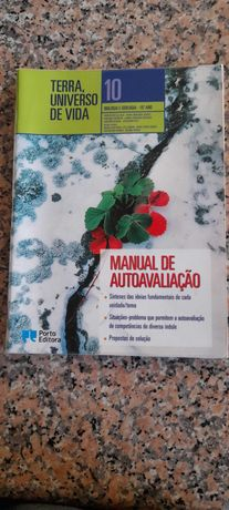 Terra Universo de Vida Manual autoavaliaç biologia e  geologia 10º ANO