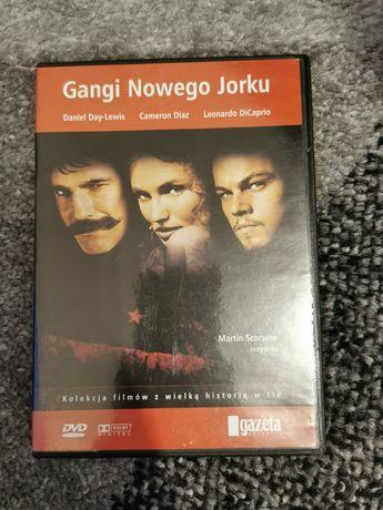 """Film na płycie DVD """"Gangi Nowego Jorku"""""""