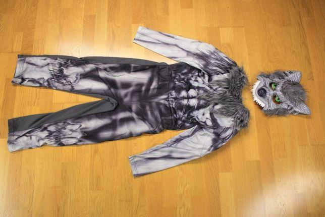 Карнавальный костюм на Хеллоуин Зомби оборотень привидение скелет
