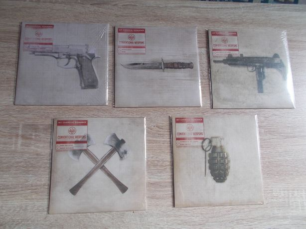 My Chemical Romance conventional weapons vinil