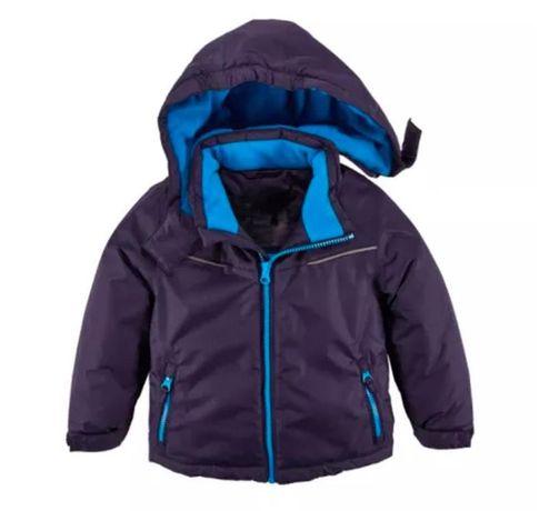 Теплая зимняя куртка на мальчика 4 года