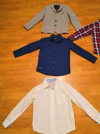 Пиджак и рубашки на мальчика