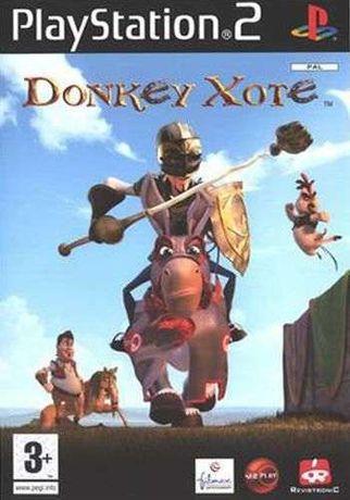 "PS2 - Jogo ""DONKEY XOTE"" c/ manual instruções (Novo)"