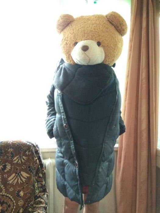 Слінгокуртка зима пуховик 2 в 1 слингокуртка пальто New York 44/50 р Киев - изображение 1