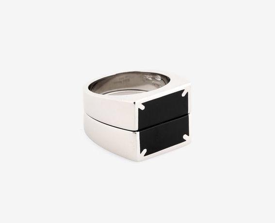 Двойное кольцо maison margiela оригинал vivienne hermes alyx vetements