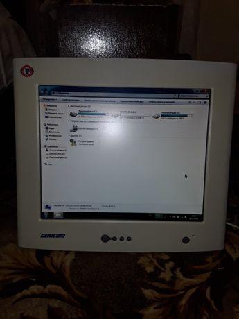 LCD монитор.