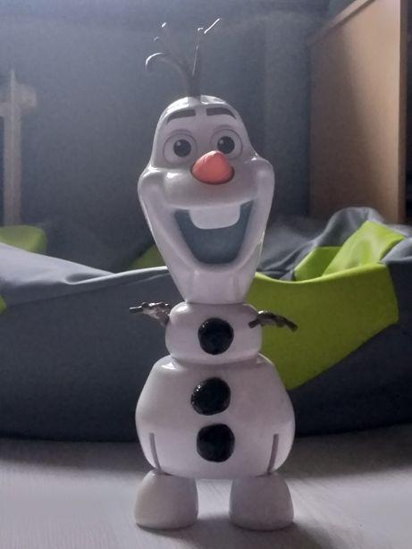 Olaf mówiący po angielsku