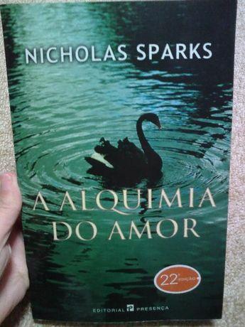 Livro A Alquimia do Amor de Nicholas Sparks