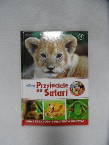 książka dla dzieci przyjaciele na safari Disney