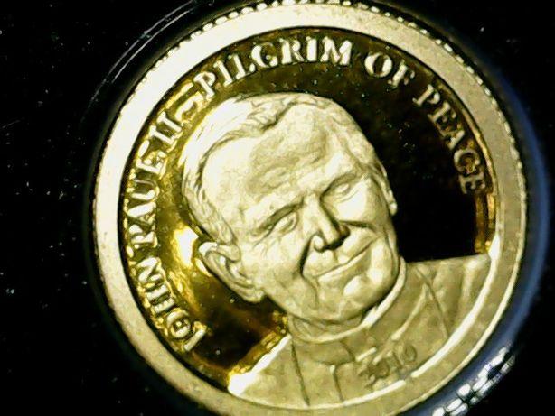 złota moneta Jan Paweł II stan menniczy