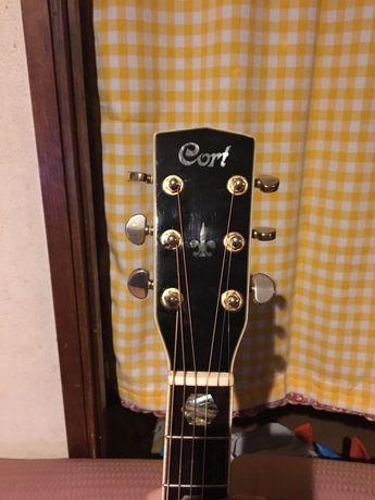 Vendo guitarra eletroacústica CORT SJ10-X troco