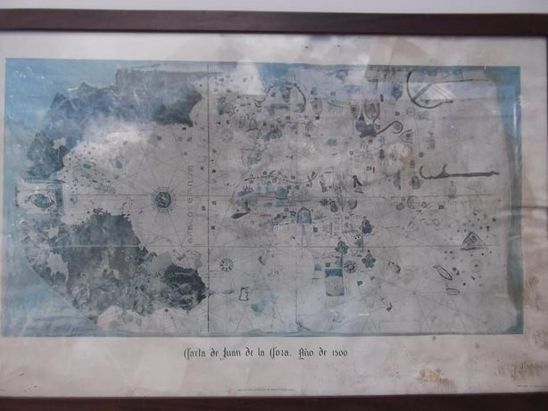 Carta datada do ano 1500 de Juan de la Bora