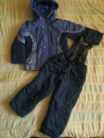 2 - 3 года Демисезонный комбинезон куртка штаны осень весна