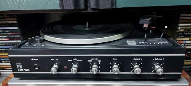 Gira Discos Prato Turntable Vintage PE 3010