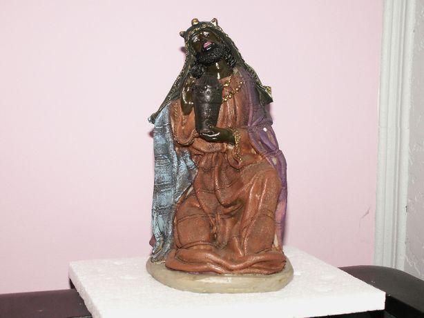 Król - Jeden z trzech króli 24 cm do szopki bożonarodzeniowej - Szopka