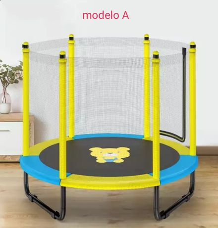 Trampolim crianças / cama elástica - vários modelos novos, preço desde