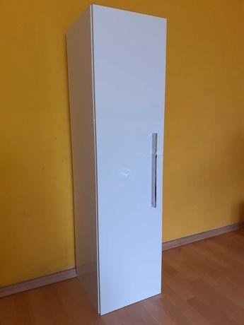 Nowa szafka łazienkowa słupek biały defra