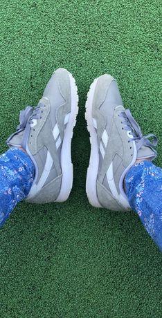 Reebok buty sportowe szare nylon classic