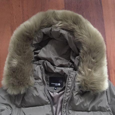 Puchowa/zimowa kurtka Missfofo snofiek, H&M, C&A